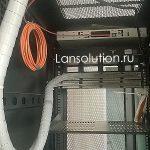 Аккуратная кабельная организация в серверном шкафу